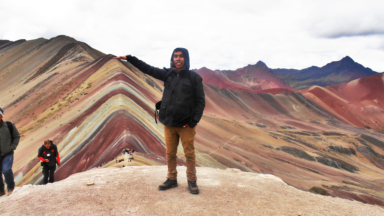 The Rainbow Mountain Cusco