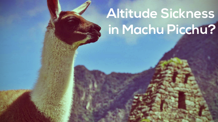 Altitude Sickness in Machu Picchu