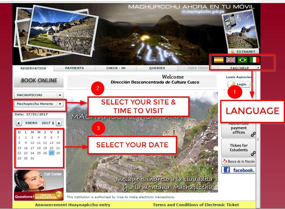 Machu Picchu Ticket 2