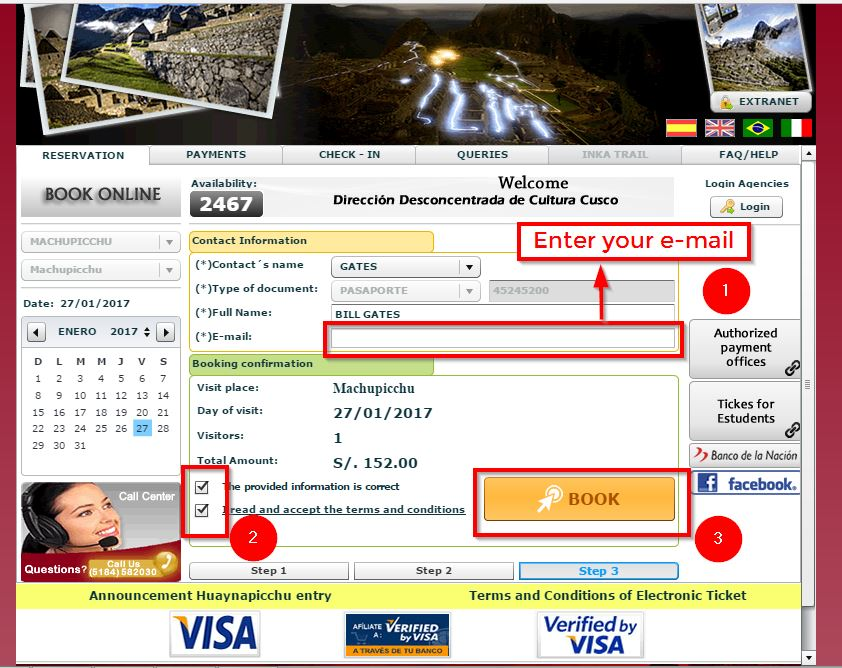 Machu Picchu Ticket -6