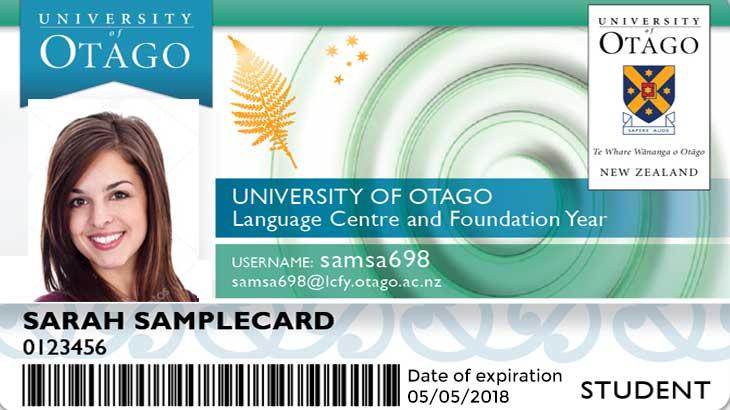 Student ID card Machu Picchu