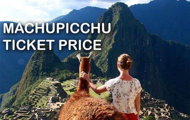 machu picchu ticket price