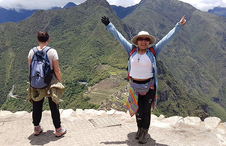 Hike Huayna Picchu Mountain