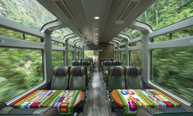 Train Vistadome